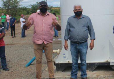 Prefeito Nena fez inauguração no último Domingo na zona rural de Inhambupe-BA